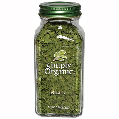 Simply Organic Cilantro Certified Organic, 0.78-Ounce Containers (Pack of 3)