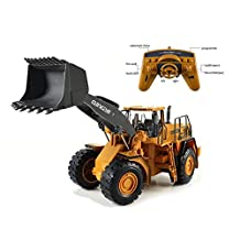 Engineering Forklift Truck Large Remote Control 1:10 2.4G Excavator Engineering Vehicle Toys RC, construction Bulldozer Electronic Heavy Machinery Toys