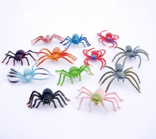Spider Animals Toy Figures (12 Count)