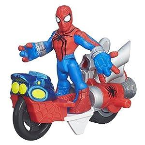 Playskool Heroes Marvel Super Hero Adventures Spider-Man Figure with Web Racer Vehicle