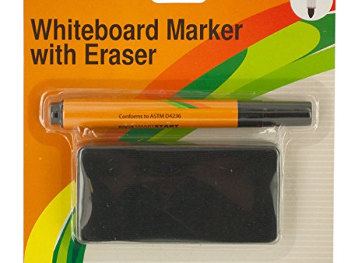 Bulk Buys Whiteboard Marker & Eraser Set