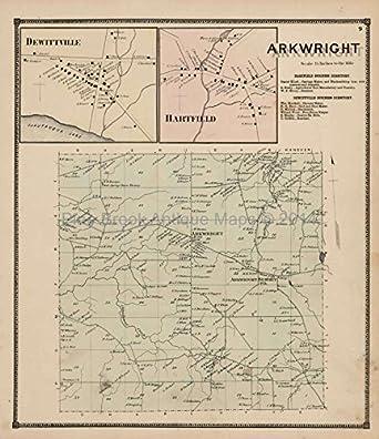 Chautauqua County Map on