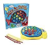 Go Fishin Game Toy Let S Pressman Fishing 4 Action Kids Todlers Lets Board Set