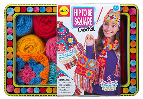ALEX Toys Craft Hip to be Square Crochet (Learn To Crochet)