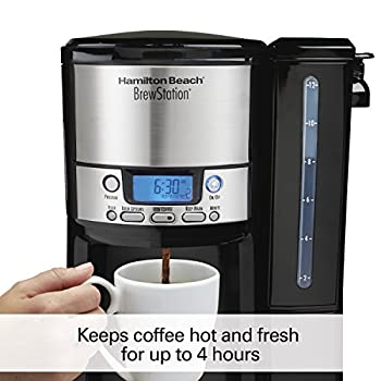 Hamilton Beach 12-cup Coffee Maker, Programmable Brewstation Dispensing Coffee Machine (47900) 5