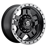 fuel anza wheels - Fuel Anza 18 Black Wheel / Rim 8x6.5 with a 1mm Offset and a 125.2 Hub Bore. Partnumber D55718908250