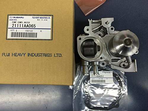 (Genuine OEM Subaru HI-FLO Impeller Water Pump Kit Forester XT Impreza WRX EJ255)