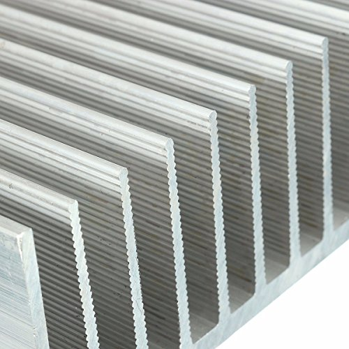ELEGIANT Cooling Module, 7.1x3.9x1.8inch Aluminum Heat Sink Heatsink Cooler Fin for High Power LED Amplifier Transistor by ELEGIANT (Image #7)