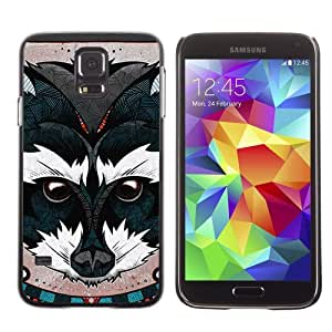 Designer Depo Hard Protection Case for Samsung Galaxy S5 / Beautiful Animal Painting