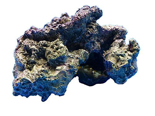LIVE ROCK CORAL REEF 28799 IMITATION POLYRESIN AQUARIUM DECOR