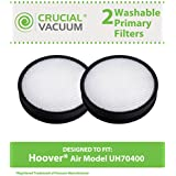 2 Washable & Reusable Filters for Hoover WindTunnel Air Model UH70400 & UH72400 Vacuums; Compare to Hoover Part No. 303903001; Designed & Engineered by Think Crucial