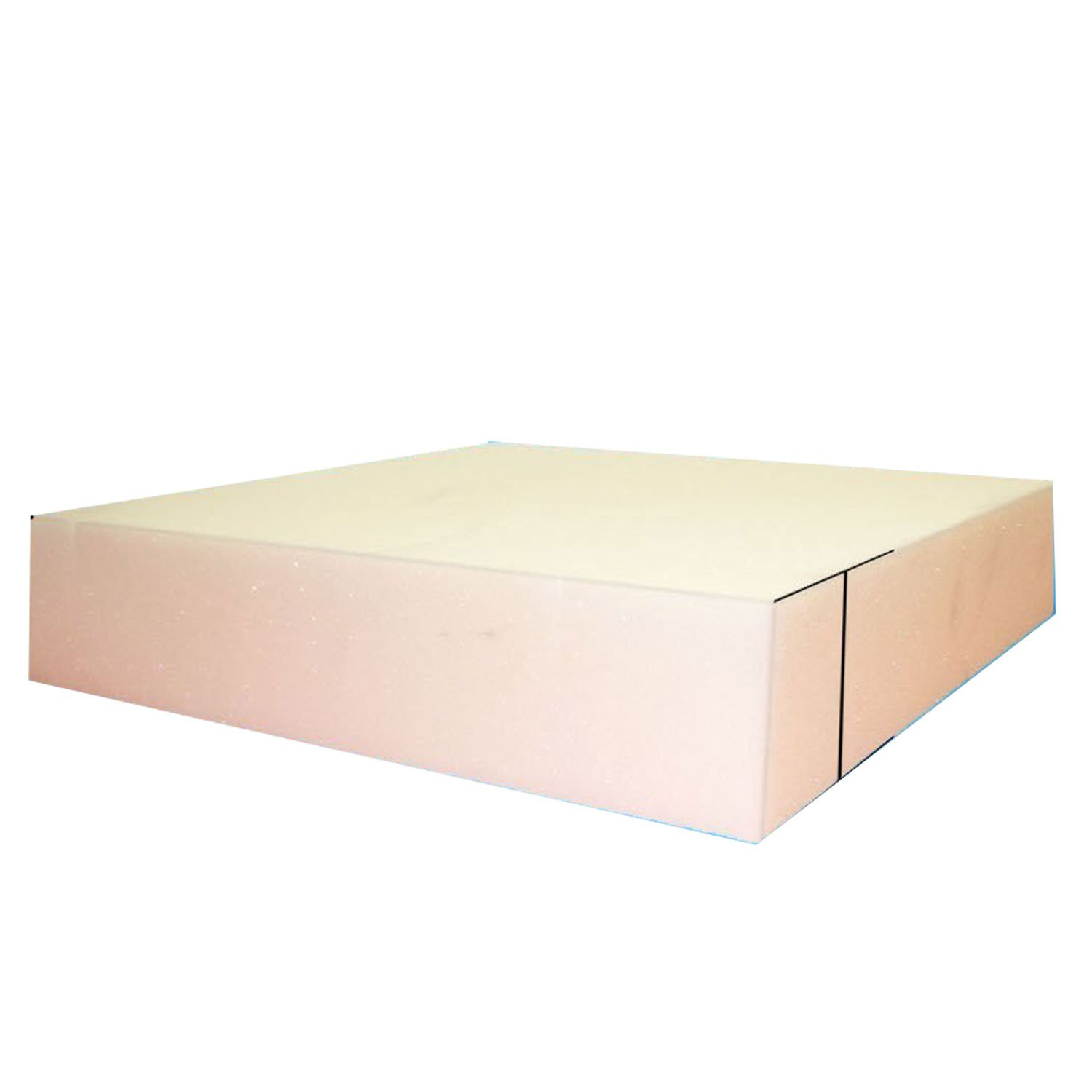 Mybecca 5'' x 24'' x 24'' New Density Upholstery Foam Cushion (Seat Replacement, Upholstery Sheet, Foam Padding) New and Comfortable Soft Technology with high Density by Mybecca