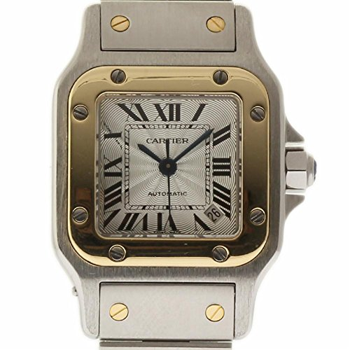 Cartier-Santos-Galbee-swiss-automatic-womens-Watch-W20057C4-Certified-Pre-owned