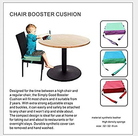 Green Jesdo Toddlers Booster Cushion High Chair Pads Booster Seat Cushion For Kids Children