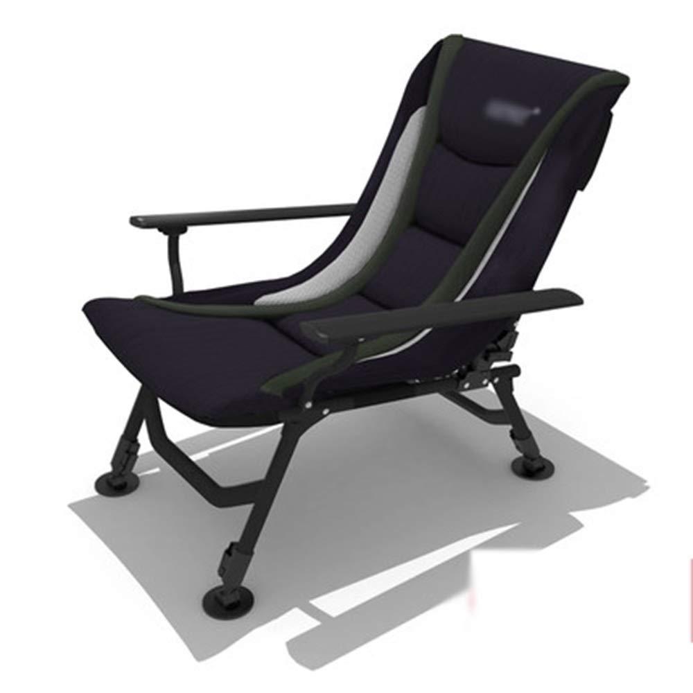 JDGK - ラウンジチェア 8974 ラウンジャー鋼合金高級折りたたみ椅子リクライニングチェア屋外レジャーチェア釣りチェアシエスタチェア B07T4H727N 正規認証品 新規格 優先配送