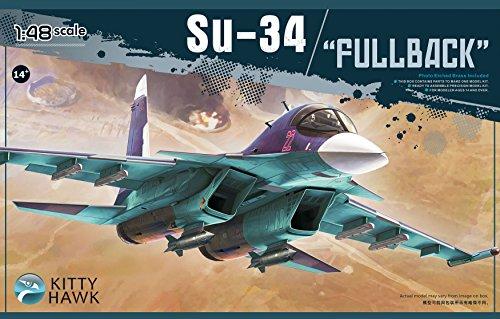 Kitty Hawk KH80141 1/48 Su-34 Fullback (MODEL BUILDING KIT)