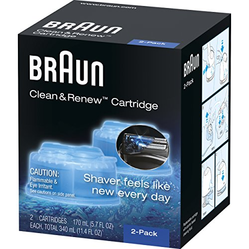 Braun Clean & Renew Refill Cartridges CCR 51Zaqu072XL  Store 51Zaqu072XL