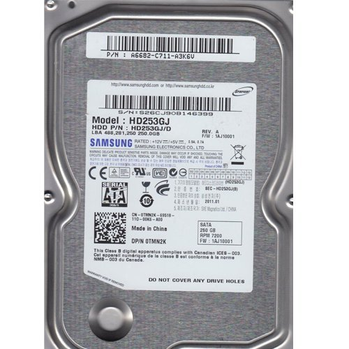 GENUINE-OEM-SAMSUNG-HD253GJ-0TMN2K-FW1AJ10001-250GB-7200-35-Hard-Drive