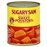 Sugary Sam Sweet Potatoes Cut, 29-Ounce (Pack of 6)