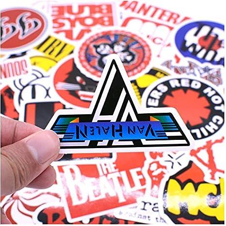 50pcs/pack Fashion Punk Rock Graffiti Stickers Kid Toy Sticker for ...
