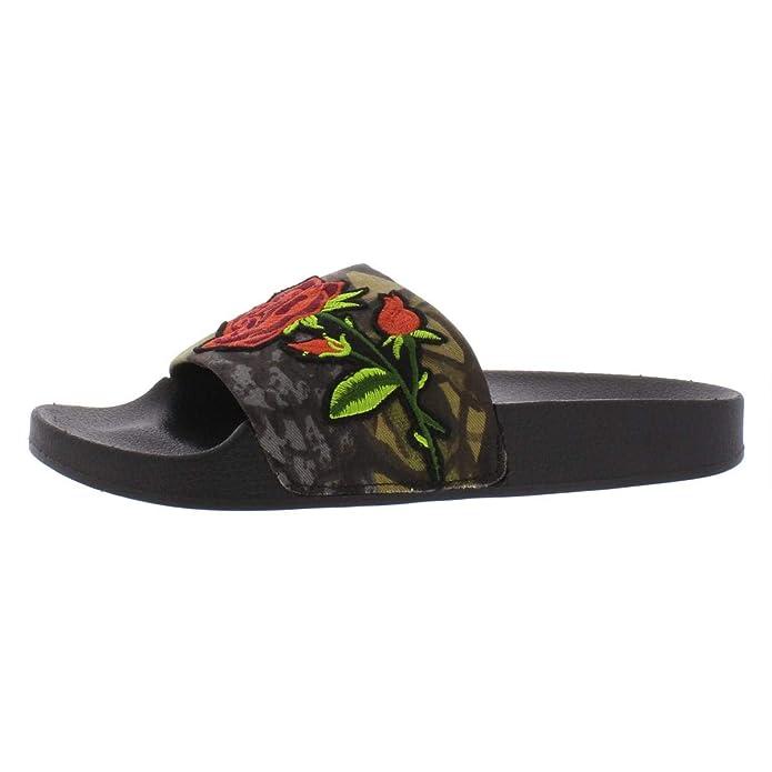7a4ff2297476 Amazon.com   Steve Madden Women's Patches Flat Sandal   Sandals