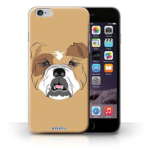 iCHOOSE Print Motif Coque de protection Case / Plastique manchon de telephone Coque pour iPhone 6+/Plus 5.5 / Collection Museaux / Chien / Bulldog