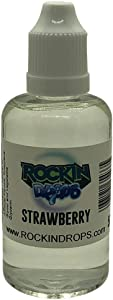 RockinDrops STRAWBERRY Food Flavoring Concentrate (50ml)