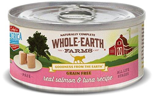 Whole Earth Farms Grain Free Real Salmon & Tuna Pate Wet Cat