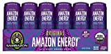 amazon acai - Sambazon Amazon Energy Drink, Original Acai Berry, 12 Ounce (Pack of 24)