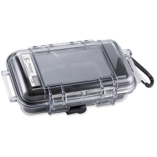 Pelican i1015 Clear case with a black liner For iPhone Water Resistant -