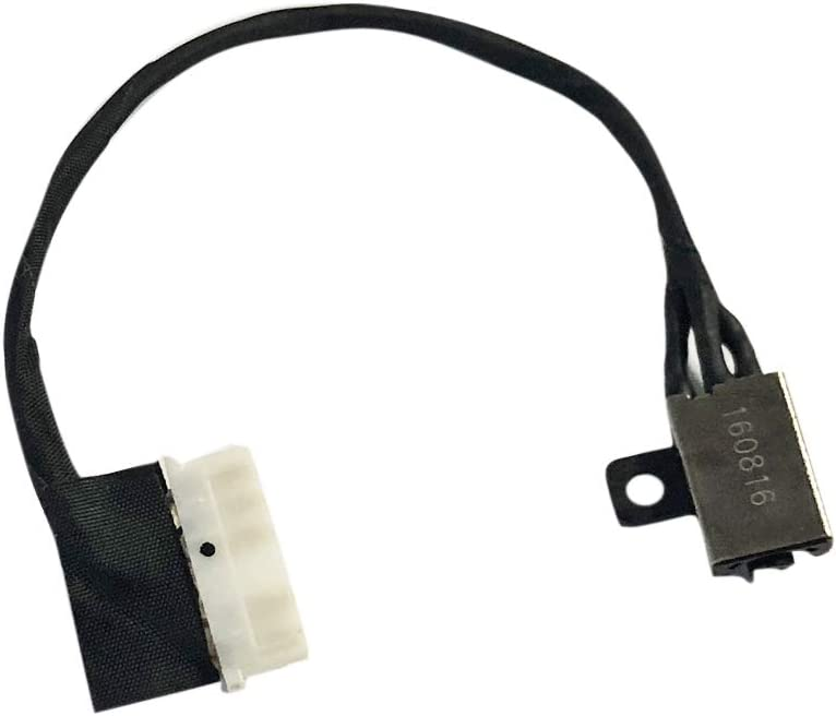 Suyitai DC Power Jack Charging Port Cable Replacement for Dell Inspiron 17 5000 i5770 i5775 P35E P75F P35E001