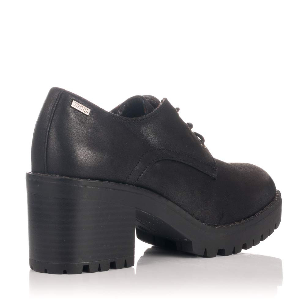 Zapatos De Tacón Oxford Nicole Negros Mustang 57526: Amazon.es: Zapatos y complementos
