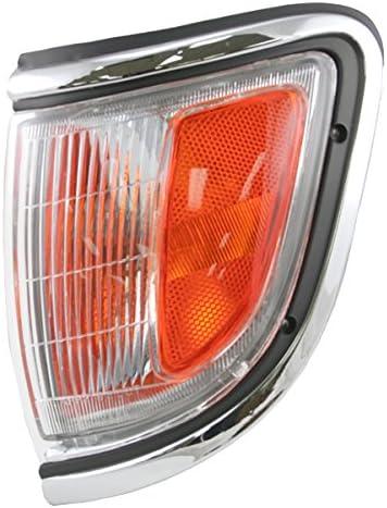Chrome Marker Parking Light Set for Toyota Tacoma 95 96 2WD