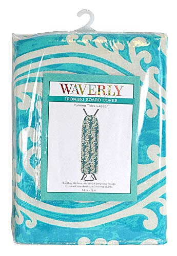 WAVERLY Home Expressions Ironing Board Cover (Turning Tides Lagoon) ()