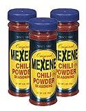 Mexene Original Chili Powder Seasoning 3oz Bottle (Pack of 3)