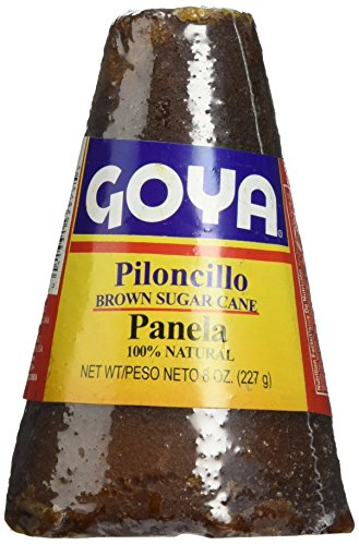 Goya Piloncillo Panela, Brown Sugar Cane 8 Oz (Pack of 2) ()