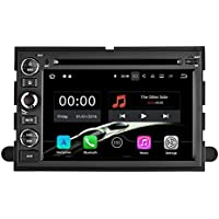 YINUO Quad Core 16GB 7 Inch Android 7.1 Double Din Car Stereo DVD Player In Dash GPS Navigation for Ford F150 2004-2008 /Fusion 2006-2009/Explorer 2006-2009/Edge 2007-2009/Expedition 2007-2009