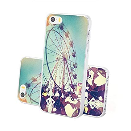Carcasa dura Looney Tunes Sefie y Poses Series Iphone - Taz y Freunde, Iphone 5/5S