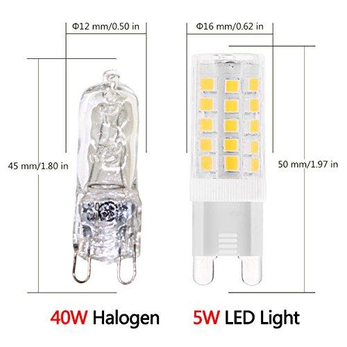g9 led light bulbs 5 watt j c led equivalent to 40 watt. Black Bedroom Furniture Sets. Home Design Ideas