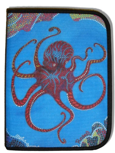 - Scuba Diving Log Book - Rogest Blue Octopus Design