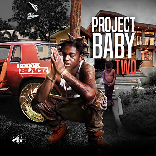 DOUBLE Z Kodak Black-Project Baby Two Poster Canvas Print Wall Art,20×20 -