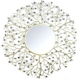Stratton Home Decor SHD0162 Acrylic Eloise Wall Mirror