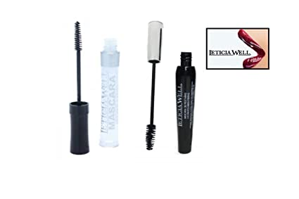 Lot 2 Mascara Transparente & Extra Volume negro – Leticia Well