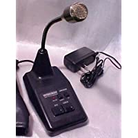 Redman Cb Stop Workman Dm502B Power Base AM/SSB 6 Pin Ranger RCI Microphone
