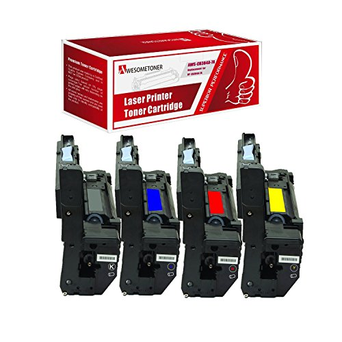 - AwesomeToner 4 PK CB384A CB385A CB386A CB387A Compatible Drum cartridge For HP Color LaserJet CM6030 CM6030f CM6040f High Yield Brack Cyan Yellow Magenta 35000 Pages