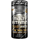 MUSCLETECH Platinum Multivitamin Advanced Daily Formula 90 Tablets 30 Servings