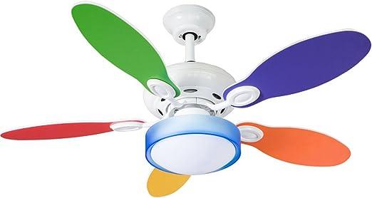 LAMP®-sala de dibujos animados para niños pequeño ventilador de ...