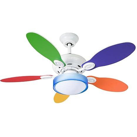 LAMP®-sala de dibujos animados para niños pequeño ventilador ...