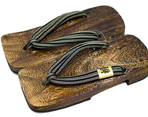 Calzature Legno Design giappone Shima Taglia L Sandali Paulownia Realizzato Mens Tradizionale Geta Cp 8Xwgp