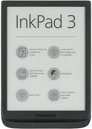 Pocketbook E Book Reader Inkpad 3 7 8 Zoll In Black Elektronik